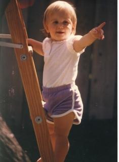 Erin Cafaro, age 2