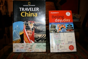 2 of my China travel books.